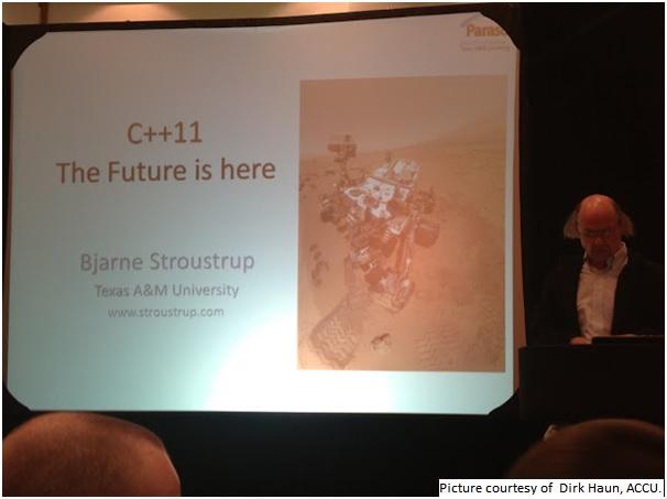 Bjarne Stroustrup at ACCU 2013